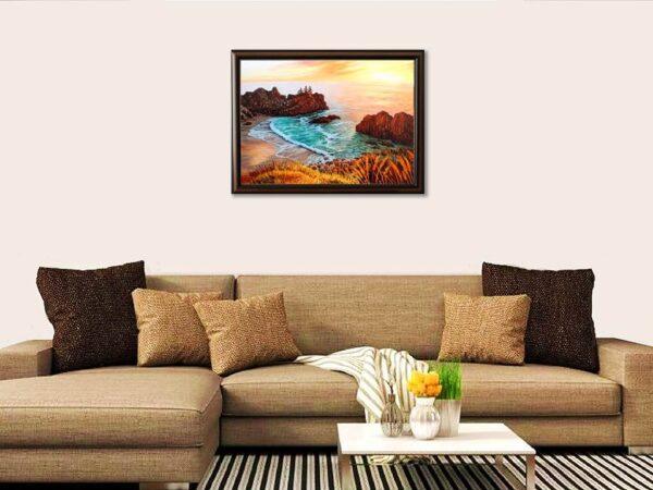 Докосване - картина за стена
