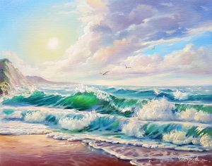 Полет над вълните